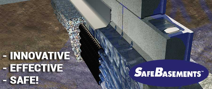 SafeBasements™ Complete Waterproofing System